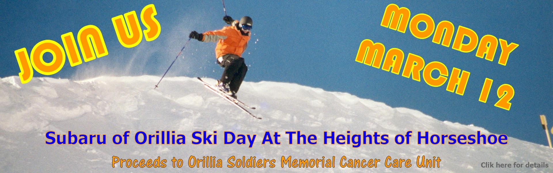 2nd Annual Subaru Ski Day at The Heights of Horseshoe