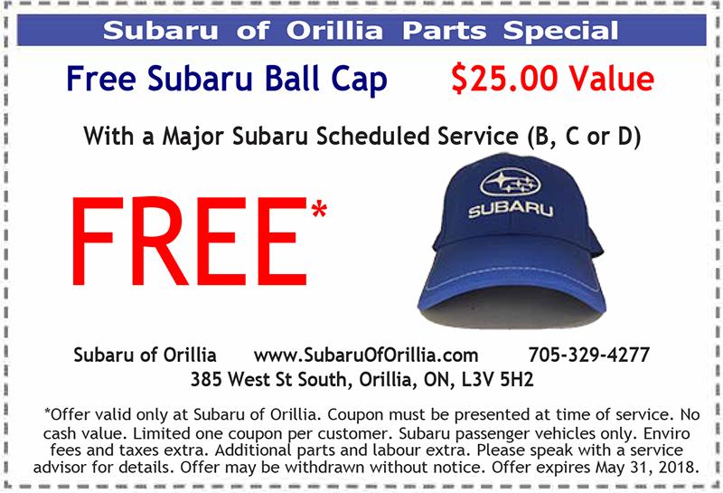 Free Ball Cap Parts Special