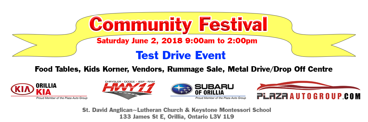 St. David Anglican-Luthern Church Community Festival