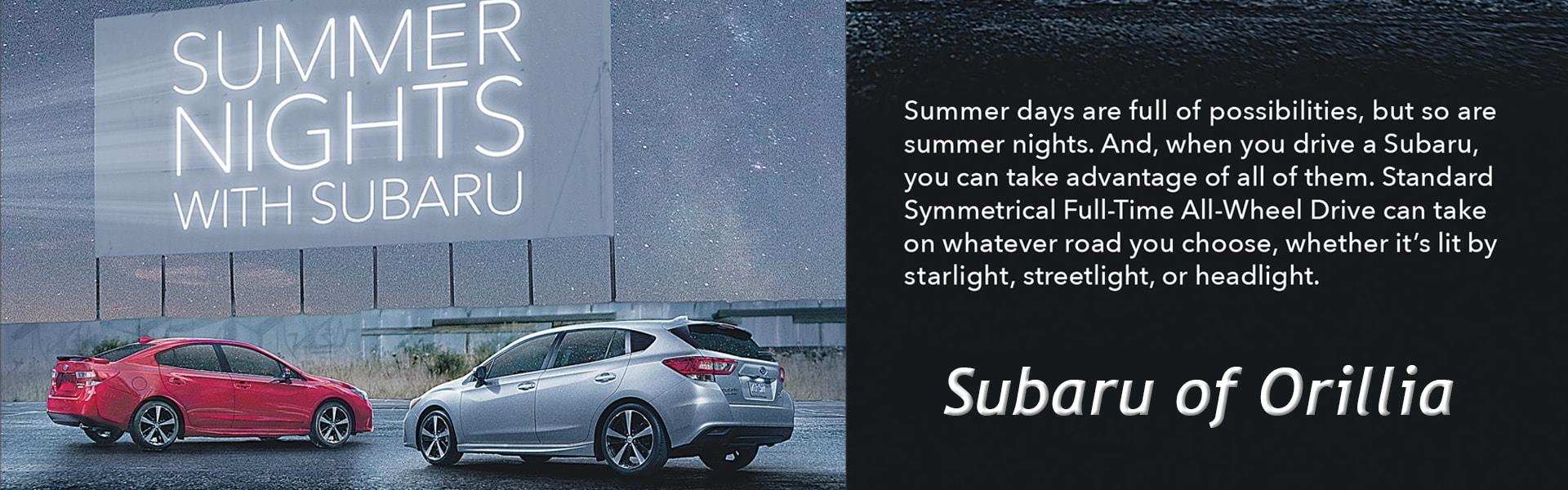 Subaru Summer