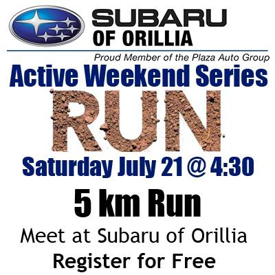 07.21.2018 5km Run